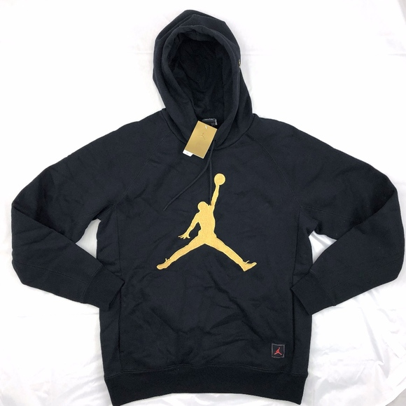 separation shoes 39d37 e9add Nike Air Jordan OVO Drake Pullover Hoodie Black